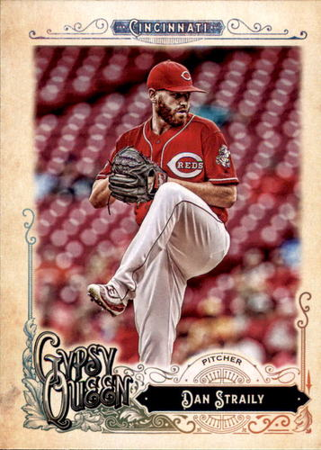 Photo of 2017 Topps Gypsy Queen #109 Dan Straily