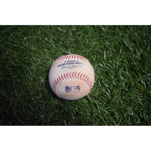 Game-Used Baseball: Sonny Gray Strikes Out Colby Rasmus