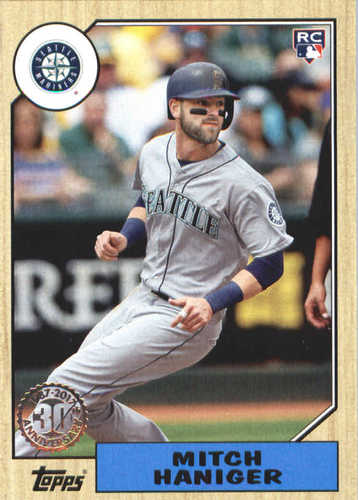 Photo of 2017 Topps Update '87 Topps #US8713 Mitch Haniger