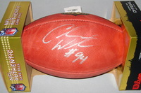 NFL - TEXANS CARLOS WATKINS SIGNED AUTHENTIC FOOTBALL