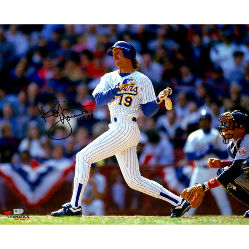 Photo of Robin Yount Milwaukee Brewers Autographed 16'' x 20'' Horizontal Photo With HOF 99 inscription