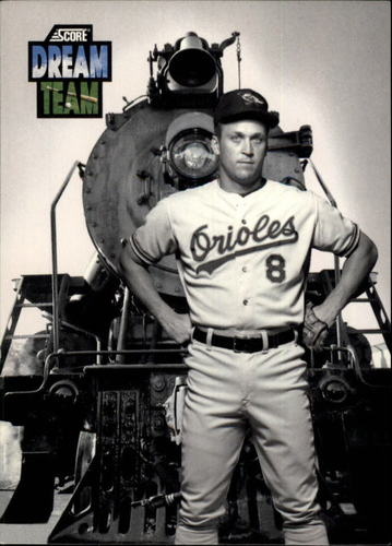 Photo of 1992 Score #884 Cal Ripken -- Hall of Fame Class of 2007