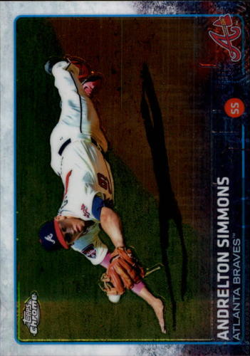 Photo of 2015 Topps Chrome #9 Andrelton Simmons