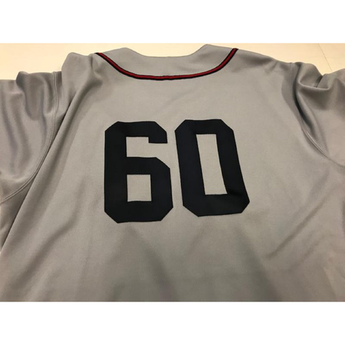 Photo of Game-Used Cleveland Buckeyes Jersey: Victor Rodriguez