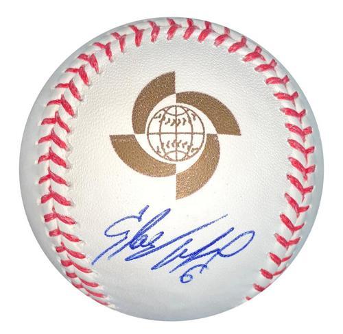 Photo of Starling Marte Autographed 2017 World Baseball Classic Baseball