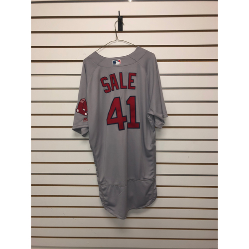 Photo of Chris Sale Team-Issued 2017 Road Jersey