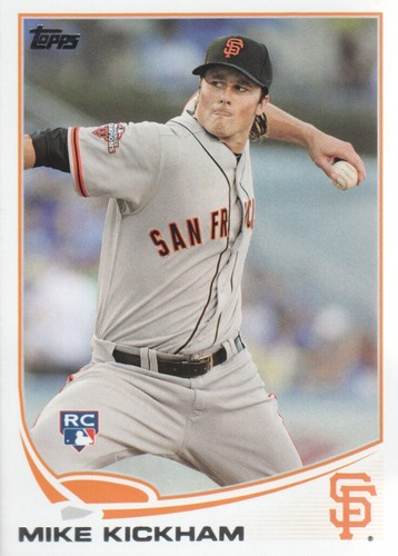 Photo of 2013 Topps Update #US116 Mike Kickham RC