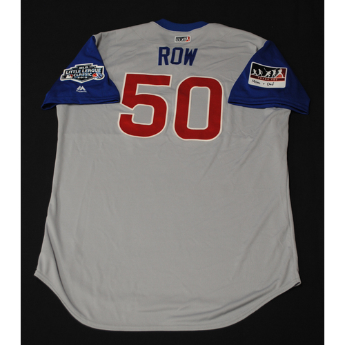 "Photo of 2019 Little League Classic - Game Used Jersey - Rowan ""Row"" Wick,  Chicago Cubs at Pittsburgh Pirates - 8/18/2019 (Size - 48)"