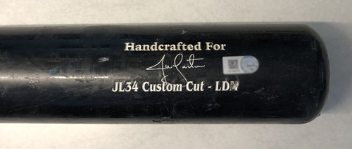 Photo of Jon Lester Game-Used Cracked Bat -- Alex McRae to Jon Lester, Ground Out, Bot 4 -- 9/13/19 -- Pirates vs. Cubs