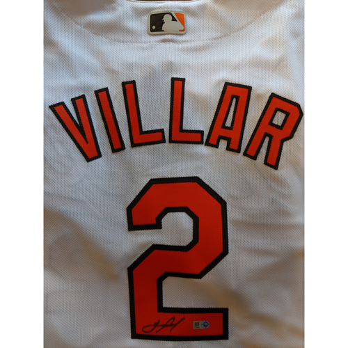 Photo of Jonathan Villar - Home Jersey: Autographed (Size 48)