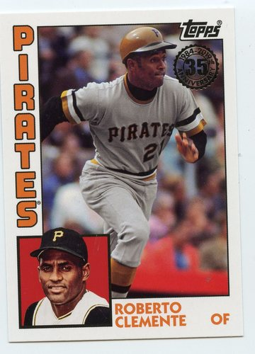 Photo of 2019 Topps Update '84 Topps #8427 Roberto Clemente