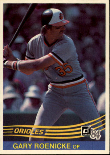 Photo of 1984 Donruss #392 Gary Roenicke