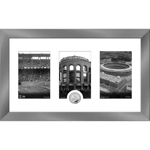 Photo of St. Louis Cardinals Art Deco Silver Coin Photo Mint