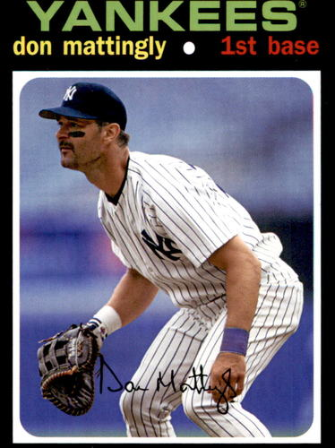 Photo of 2020 Topps Topps Choice #TC10 Don Mattingly