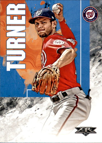 Photo of 2019 Topps Fire #115 Trea Turner