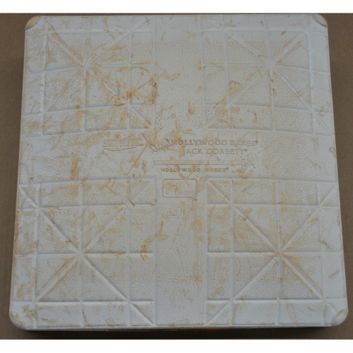 Game-Used 2017 Spring Training Base - Kansas City Royals Spring Training - 3/29/2017 - 1st Base, Used Innings 1-3