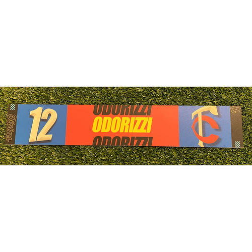 Photo of Minnesota Twins 2020 Game-Used Locker Name Tag - Choose Your Player!