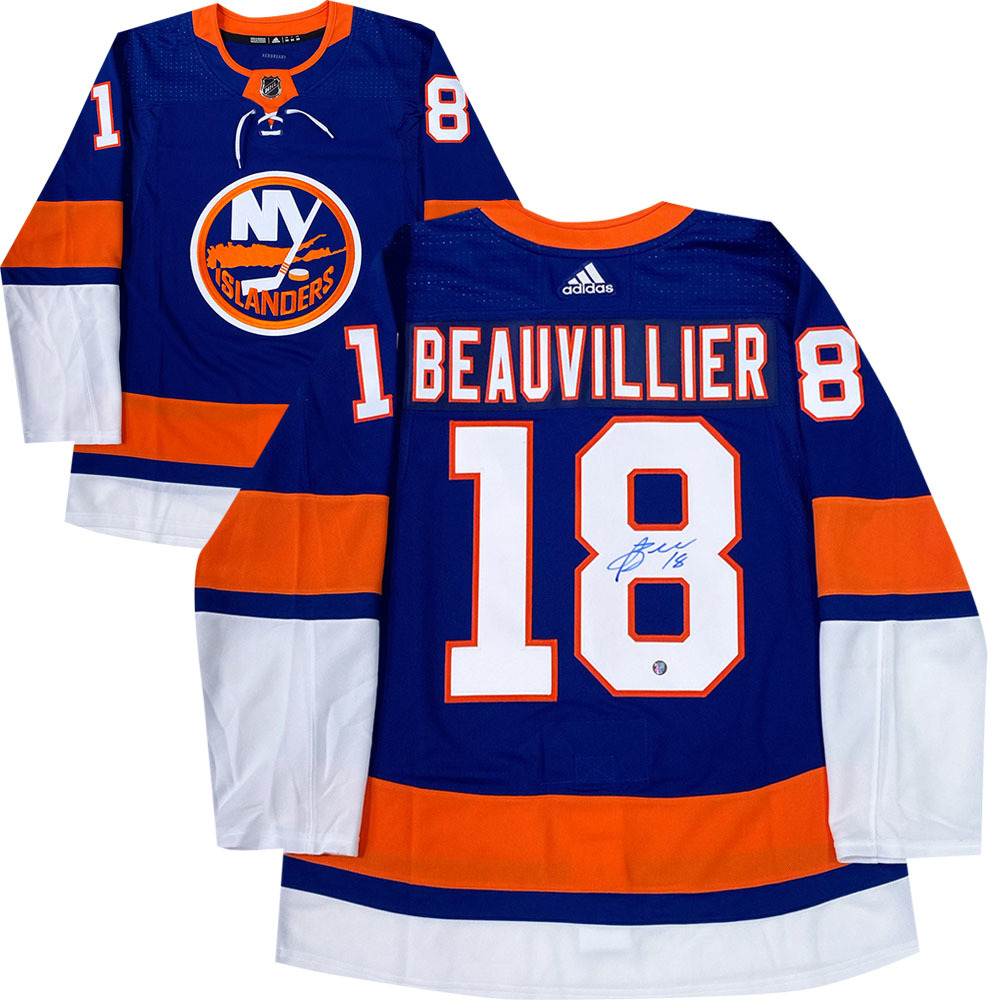 Anthony Beauvillier Autographed New York Islanders adidas Pro Jersey