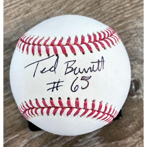 Photo of UMPS CARE AUCTION: Ted Barrett Signed Baseball