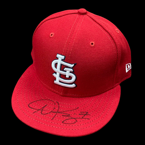 Photo of Andrew Knizner Autographed Team Issued Home Cap (Size 7 3/4)