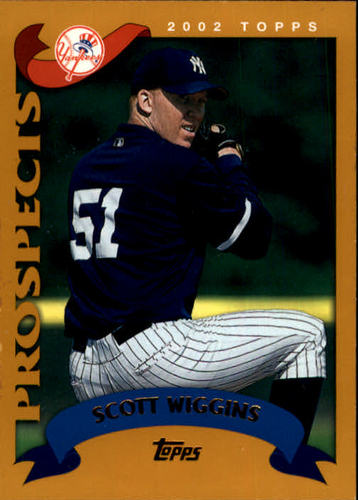Photo of 2002 Topps #314 Scott Wiggins PROS RC