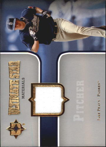 Photo of 2007 Ultimate Collection Ultimate Star Materials #PE Jake Peavy