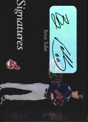 Photo of 2003 Leaf Clubhouse Signatures Silver #8 Brian Tallet