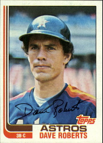 Photo of 1982 Topps #218 Dave Roberts