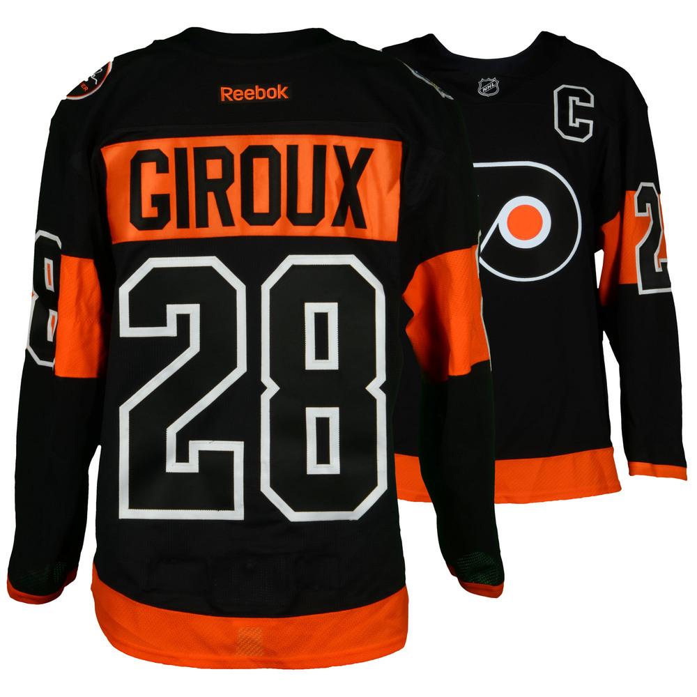 on sale 297e7 2bc19 Claude Giroux Philadelphia Flyers 2017 Stadium Series Game ...