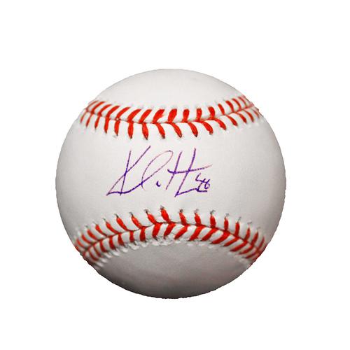 Kelvin Herrera Autographed Baseball