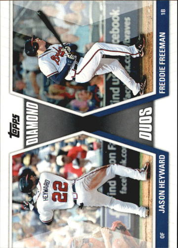 Photo of 2011 Topps Diamond Duos #HF Jason Heyward/Freddie Freeman