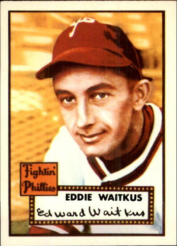 Photo of 1983 Topps 1952 Reprint #158 Eddie Waitkus