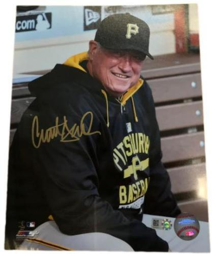 Photo of Clint Hurdle Autographed 8 x 10 Photo