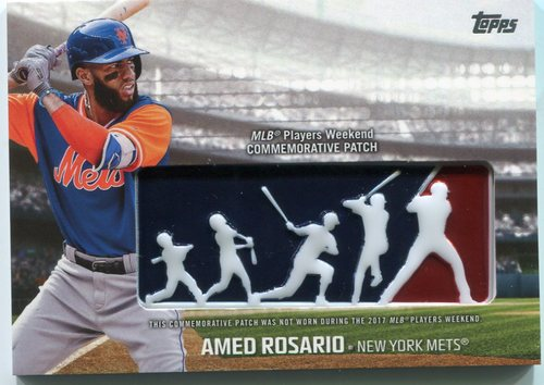 Photo of 2018 Topps Players Weekend Patches #PWPAR Amed Rosario