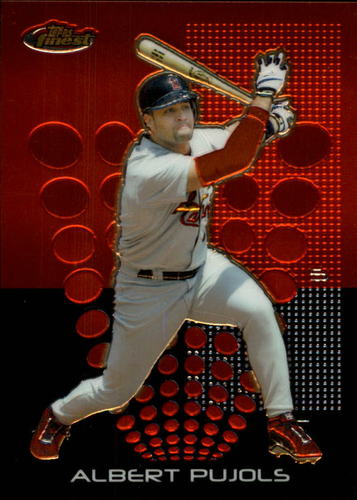 Photo of 2004 Finest #100 Albert Pujols