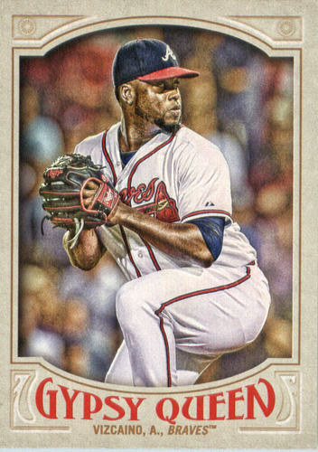 Photo of 2016 Topps Gypsy Queen #197 Arodys Vizcaino