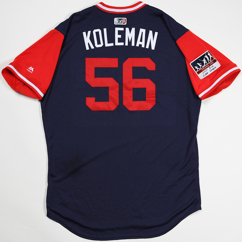 "Photo of Kole ""Koleman"" Calhoun Los Angeles Angels Game-Used 2018 Players' Weekend Jersey"