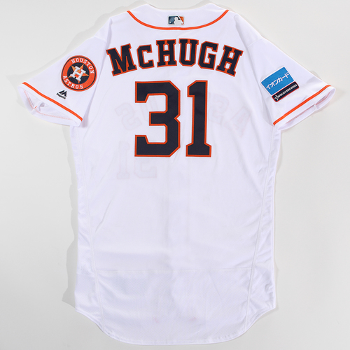 Photo of 2018 Japan Series Game-Used Jersey - Collin McHugh - Size 44