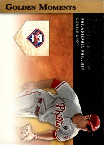 Photo of 2012 Topps Golden Moments Series 2 #GM42 Chase Utley