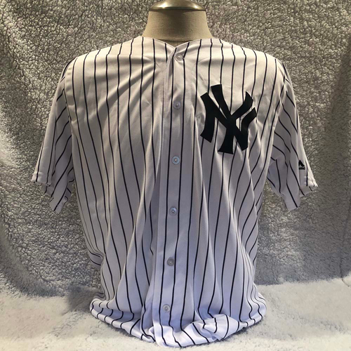Photo of UMPS CARE AUCTION: Giancarlo Stanton New York Yankees Jersey, Size 48