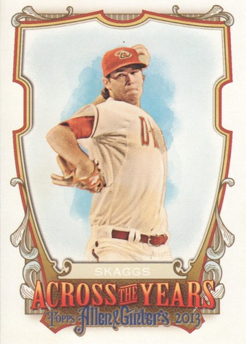 Photo of 2013 Topps Allen and Ginter Across the Years #TS Tyler Skaggs