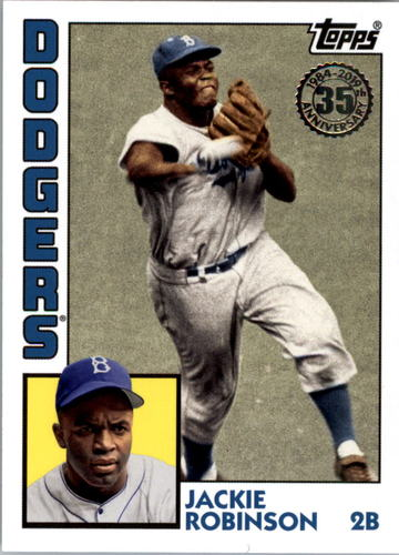 Photo of 2019 Topps Update '84 Topps #8428 Jackie Robinson