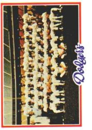 Photo of 1978 Topps #259 Los Angeles Dodgers CL