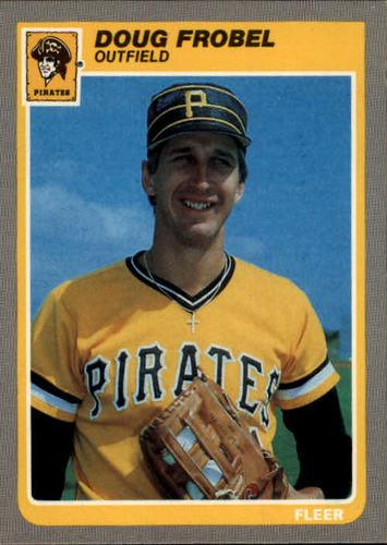 Photo of 1985 Fleer #464 Doug Frobel