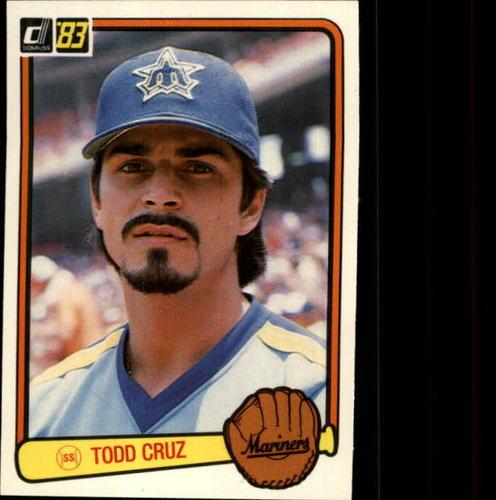 Photo of 1983 Donruss #505 Todd Cruz