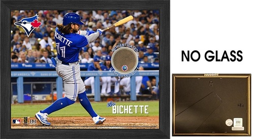 "Photo of Toronto Blue Jays 9"" by 11"" Bo Bichette Frame with Game Used Dirt by Highland Mint"