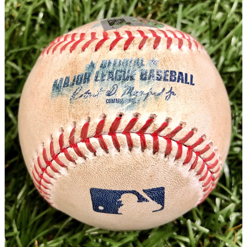 Photo of Game Used Baseball: Xander Bogaerts single off Josh Fleming - September 10, 2020 v BOS