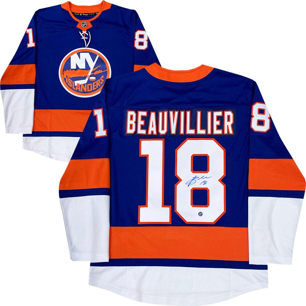Anthony Beauvillier Autographed New York Islanders Fanatics Jersey