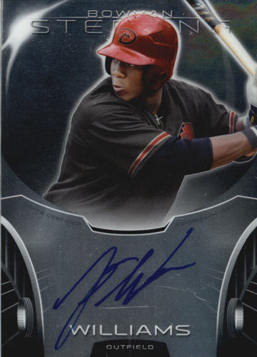 Photo of 2013 Bowman Sterling Prospect Autographs #JW Justin Williams