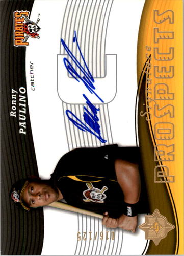 Photo of 2005 Ultimate Signature #172 Ronny Paulino AU RC